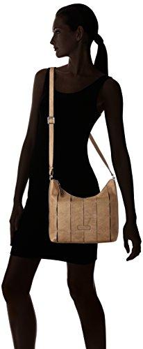 Toledo GERRY Shoulderbag 104 Lvz WEBER Bandoulière Beige Femme Sac Taupe vZq56Z