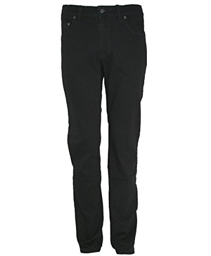 Pioneer 1144–9639–11Ron Noir Stretch Jeans: largeur: W44–Longueur: L32