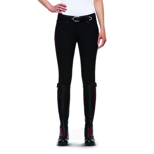 Ariat Breeches (Ariat Womens Prix Breech Lr FZ 26 Long Black)