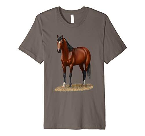 Beautiful Brown Bay Quarter Horse T-shirt ()
