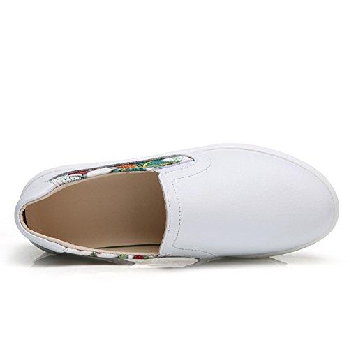 Taille Semelle Sneakers Course Punk Slip 40 on Plateforme Plus Chaussure À Montante De Pied Femme La Basket Pour Confortable recommandez Un 35 Lfeu FqA4g
