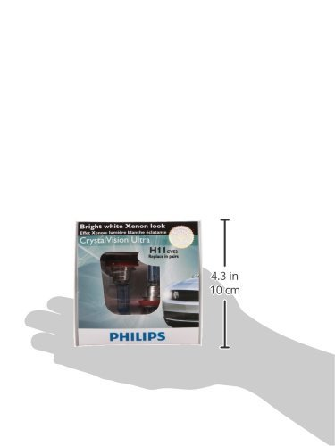 Philips D2R CrystalVision Xenon HID Headlight Bulb Pack Of 2