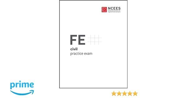 Fe civil practice exam ncees 9781932613810 amazon books fandeluxe Image collections