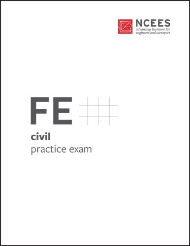 FE Civil Practice Exam