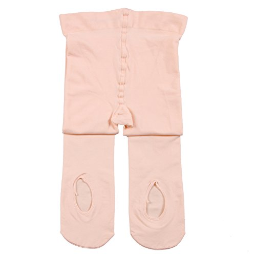 Girl's Ballet Dance Tights - Ultra-Soft Toddler Ballet Tights for Women (Pink, XS)