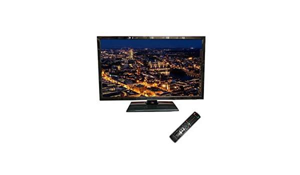 Bluenergy TV LED 21.5 Pulgadas Full HD Alimentación 12V para Caravanas, Negro, 506x337x176mm: Amazon.es: Electrónica