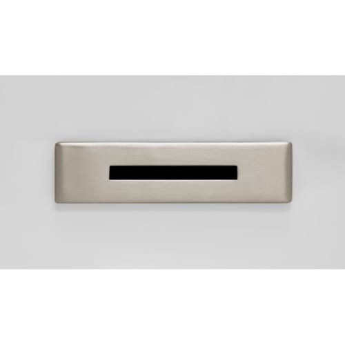 - Jacuzzi MF35 Linea Toe Tap Drain Assembly with Overflow, Brushed Nickel