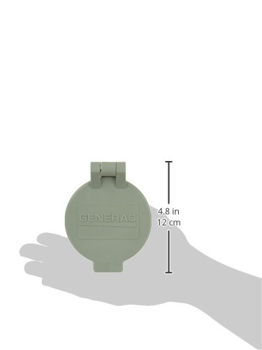 Generac 6393 Flip Lid Accessory for Power Inlet Box Models 6342/6343/6344/6336/6337 and 6338