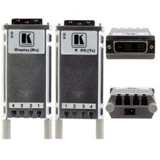 Kramer 610 Detachable DVI Optical Transmitter and Receiver (Optical Data Transmitter)
