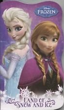 (Disney Frozen Land of Snow & Ice Board Book (Anna & Elsa))