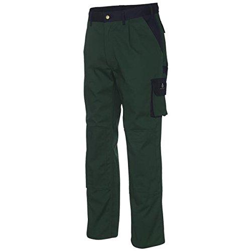 Mascot 00979-430-31-82C60 Torino Pantalon Taille Longueur 82 cm/C60 Vert/Bleu Marine