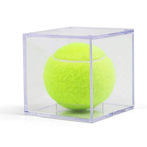 - ChalkTalkSPORTS Square Acrylic Display Case | Tennis Ball Holder | 3-Pack