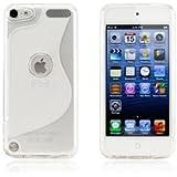 Apple iPod touch 5 アウトドアスタイルケース (アイポッドタッチ 2012年 第5世代 iPod 5th 対応) Outdoor Style TPU Case ロゴカットデザイン + 液晶保護フィルム1枚【Clear (クリア)】