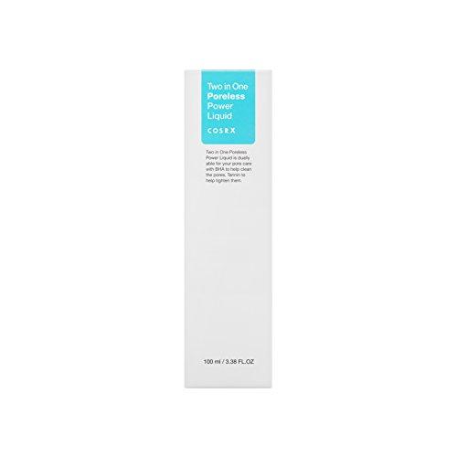COSRX Two in One Poreless Power Liquid, 100ml / 3.38 fl.oz   Tightening Pores   Korean Skin Care, Vegan, Cruelty Free, Paraben Free