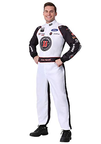 Jimmy Halloween Costume (Adult #4 Kevin Harvick(R) Jimmy John's Uniform Costume Large)