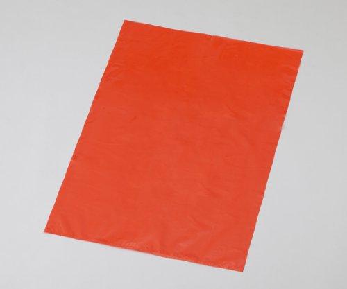 アズラボ(アズワン)1-3343-03アズラボ滅菌用オートクレーブバッグ(赤色無地)600×900mm B07BD258HS