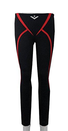 Vicwin-One Anime Rin Matsuoka Pants Swimming Trunks Cosplay Costume Black