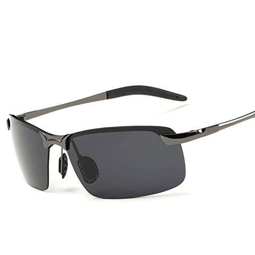 Men's Sunglasses/Polarizer/Fashion sport sunglasses/Chauffeur-driven mirror/Retro - Driven Sunglasses