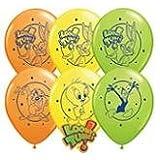 "11"" Looney Tunes Assortment Latex Balloons"