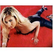 Sarah Michelle Geller 8x10 Photo Buffy on a Red Carpet -  Photograph