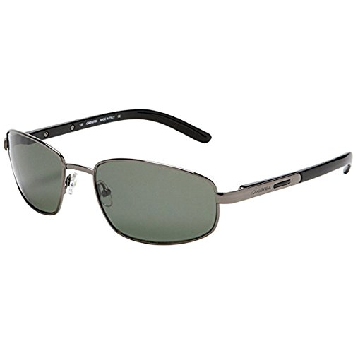 Carrera Andes/S Sunglasses,Shiny Gunmetal/Green Gray