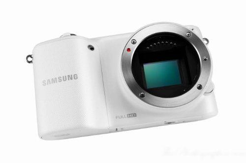 Samsung NX2000 Smart Wi-Fi Digital Camera Body (White) (International Model)
