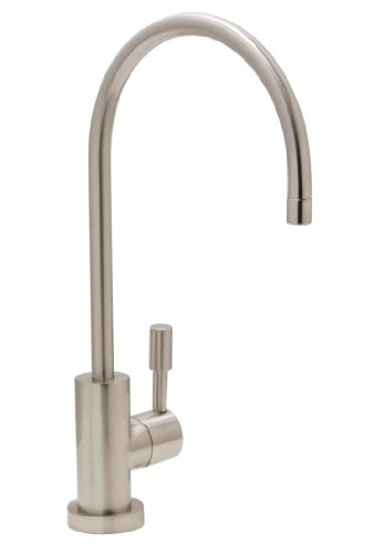 Huntington Brass 41990-12 Modern Drinking Water Filtration Faucet, Satin Nickel (Bar Faucet Filtration)