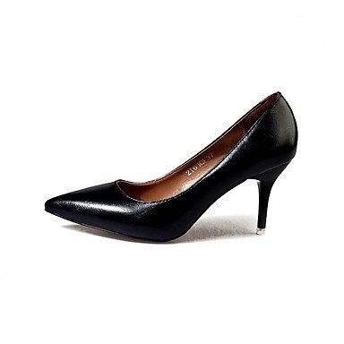 amp; Eté Talons LvYuan Chaussures Moccasin Deux ggx Pièces de Travail Femme Chaussures amp; club à Confort AutomneBureau Habillé Similicuir yellow D'Orsay qITZI