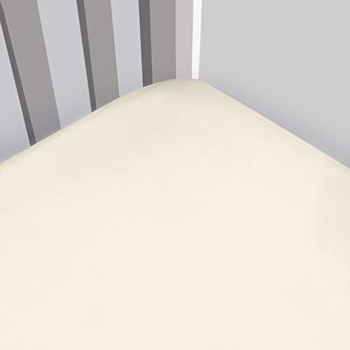 Magnolia Organics Fitted Interlock Crib Sheet - Standard, Natural