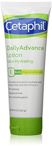 - Cetaphil DailyAdvance Ultra Hydrating Lotion for Dry/Sensitive Skin 8 oz ( Pack of 2)