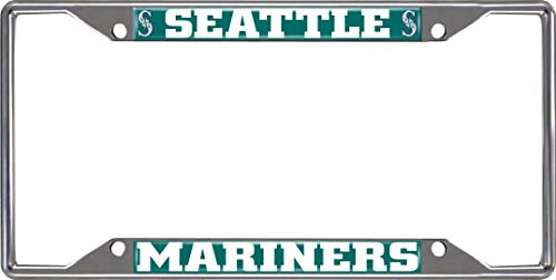 FANMATS MLB - Seattle Mariners License Plate Frame ()