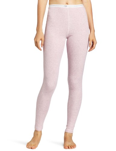 (Duofold Women's Mid Weight Double Layer Thermal Leggings, Berry Pink Heather, Medium)