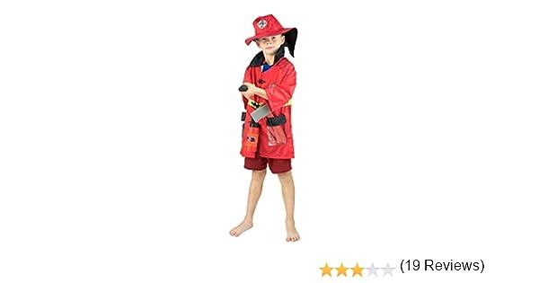 Bodysocks® Disfraz de Bombero para Niños: Amazon.es: Juguetes y juegos