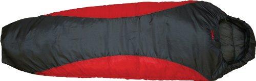 Highlander Voyager Super Lite Sleeping Bag Scarlet / Gunmetal
