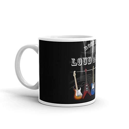 Guitars: Loud and Proud 11 Oz Ceramic