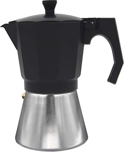 Bastilipo 8437000866367 cafetera italiana induccion, Aluminio, Negro