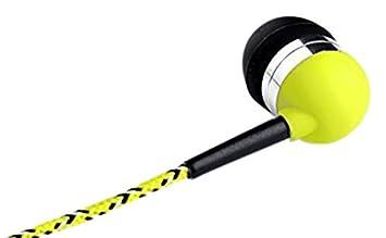 71dd12d2332 Tweedz Tangle-free, Durable Neon Yellow Earphoness: Amazon.co.uk:  Electronics