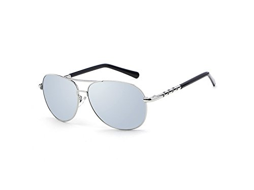 De PanpA Moda para Sol Hombres Polarized de Fashion ADream Plata Outdoor Sports Gafas dpFWqd46