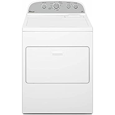 Whirlpool WED49STBW 7.0 Cu. Ft. White With Steam Cycle Electric Dryer