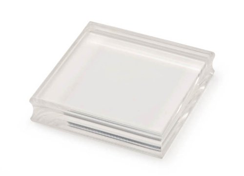Darice SCR362 3-Inch by 3-Inch Acrylic Stamp Mounting Block by Darice