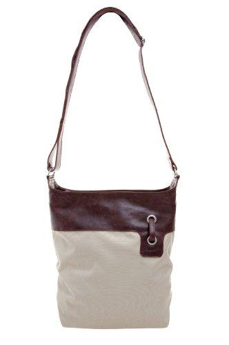 Bonjour B12–Taschen (2Stück), 34cm creme