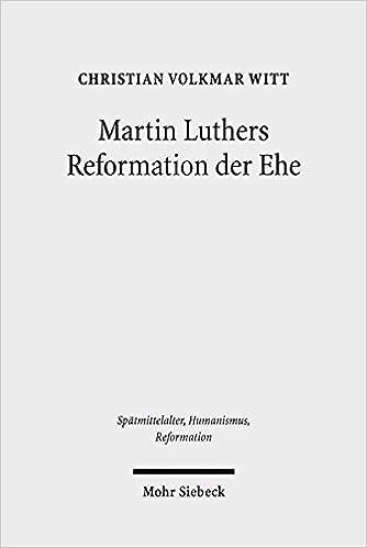 Martin Luthers Reformation der