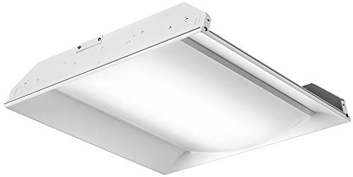 (Lithonia Lighting/Acuity - 2FSL2-40L-EZ1-LP835 - Recessed Troffer, LED Replacement For U-Bend, 3500K, Lumens 4000, Fixture Rated Life 50, 000 hr.)