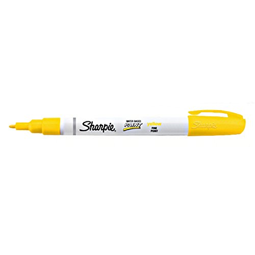 sanford Sharpie Poster-Paint Markers yellow fine (35582)
