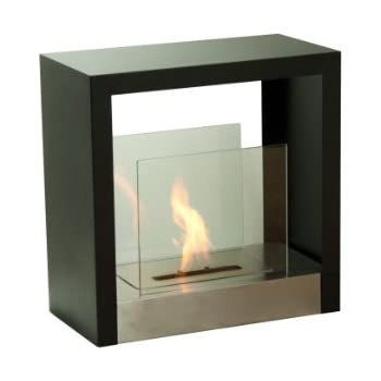 Ignis Tectum S Freestanding Ventless Ethanol Fireplace