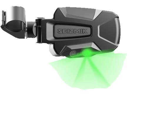 Seizmik Pursuit Night Vision Series Side View Mirrors with Dual Mode LEDs Polaris Pro-Fit and CAN-AM Profiled ROPS - Night View Series