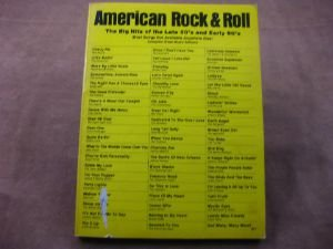(American Rock and Roll: The Big Hits of the Late 50's and Early 60's (Volume 6) )