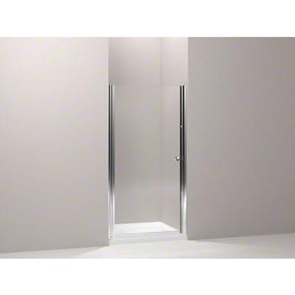 Kohler K 702416 L Sh Fluence Frameless Pivot Shower Door With Clear