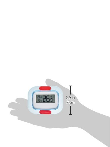 Amazon.com: TFA - Dostmann No. 30.1042 Digital Freezer - Fridge - Thermometer Range T in: -30.+50°C/-22.+122°F: Instant Read Thermometers: Kitchen & Dining