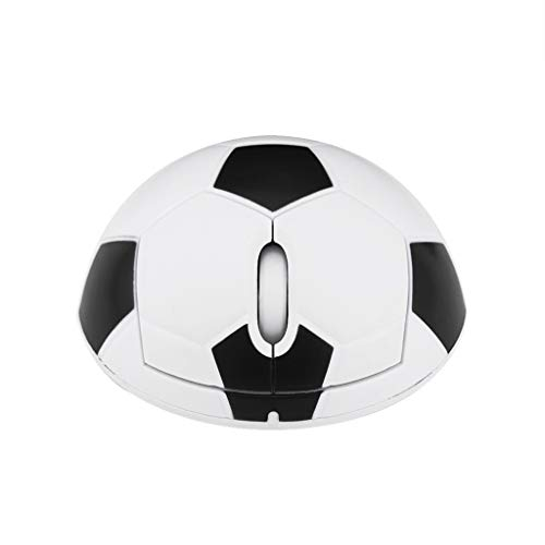 DEESEE(TM) NewWireless Soccer Mouse 2.4G Ergonomic 3D Optical Sports Football Mice For PC Laptop